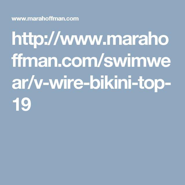 http://www.marahoffman.com/swimwear/v-wire-bikini-top-19