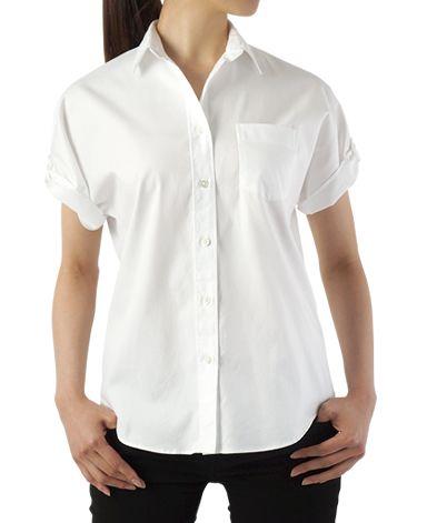 カジュアルシャツ(7 白): レディース | メーカーズシャツ鎌倉 公式通販 | MAKER'S SHIRT KAMAKURA
