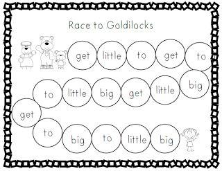 Goldilocks and the Three Bears Game
