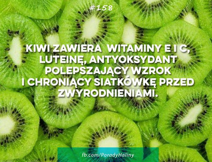Kiwi dobre dla wzroku!