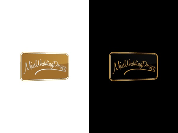 Miss Wedding Design - proposed logo #weddingplanner #studioventotto