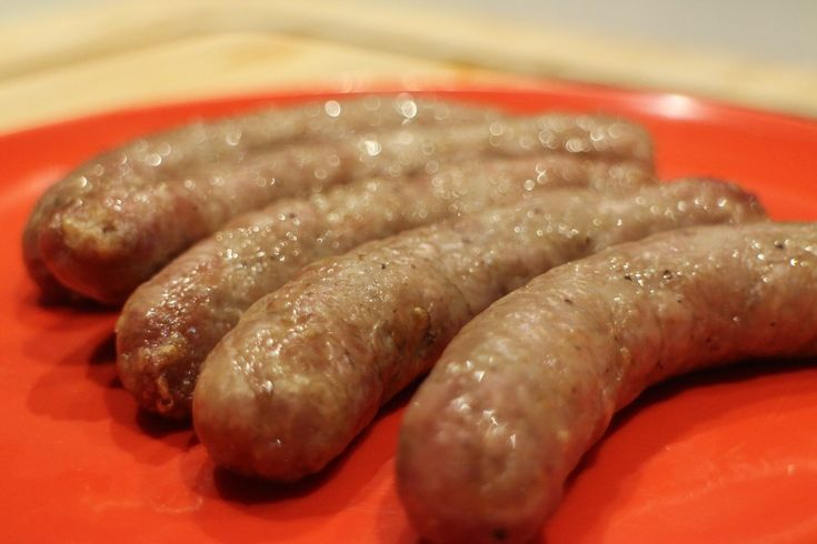 Cooking Sausages with an Oil Less Fryer