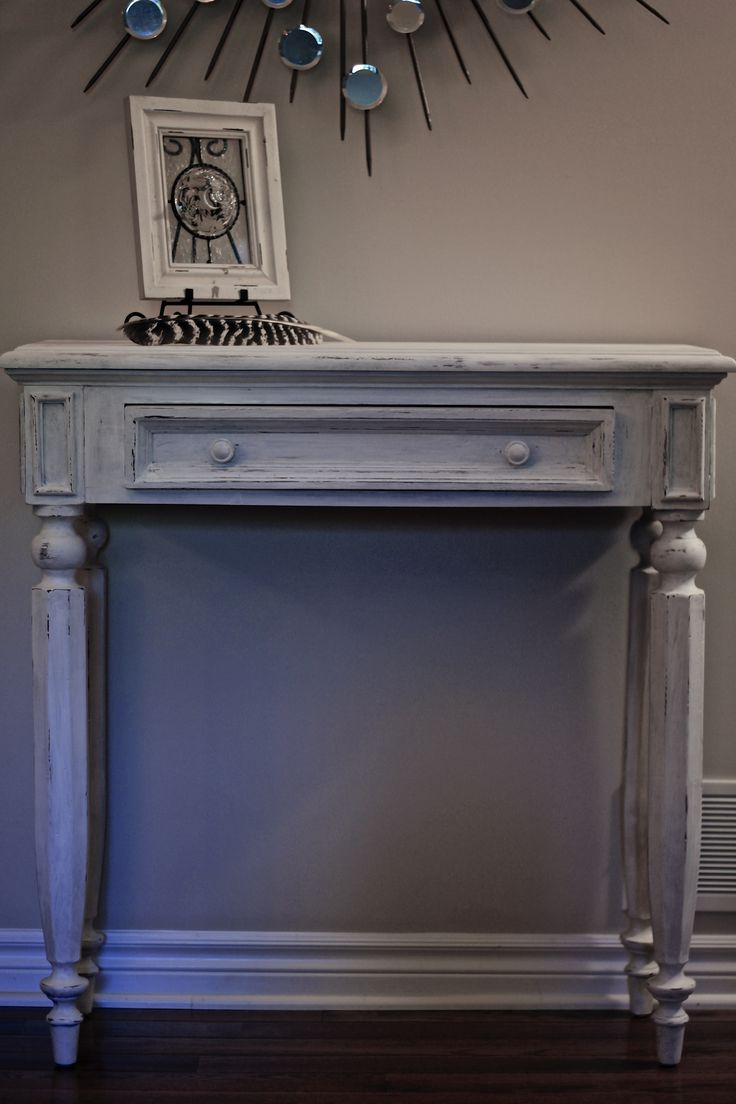 My first project with chalk paint