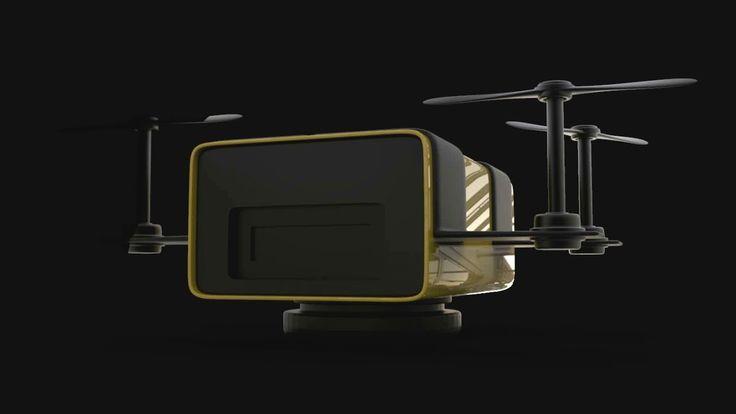 simple drone, Revnic Claudiu on ArtStation at https://www.artstation.com/artwork/zraVZ