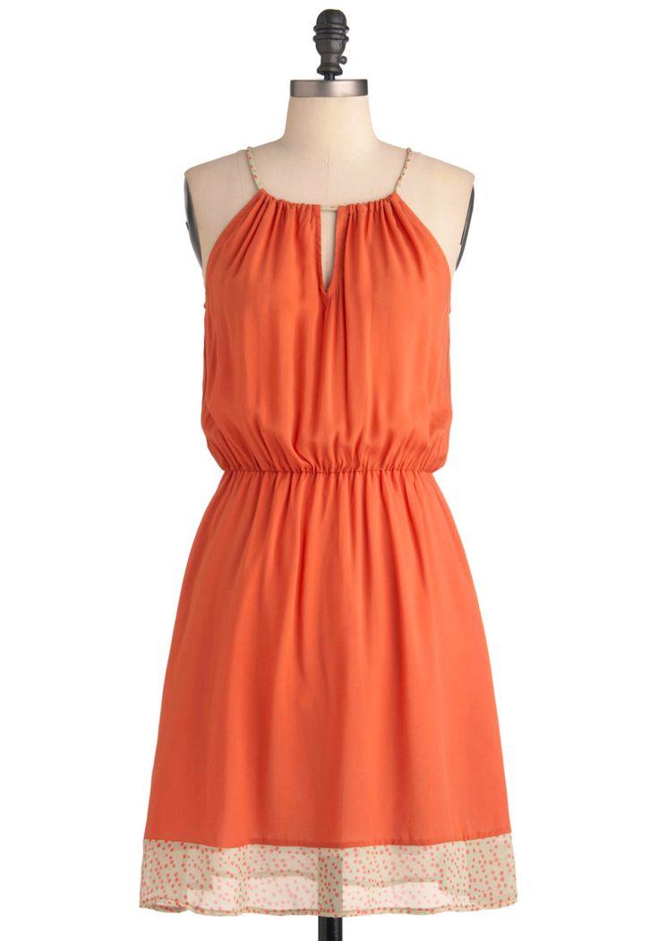 Melon Punch Dress | Mod Retro Vintage Dresses | ModCloth.com