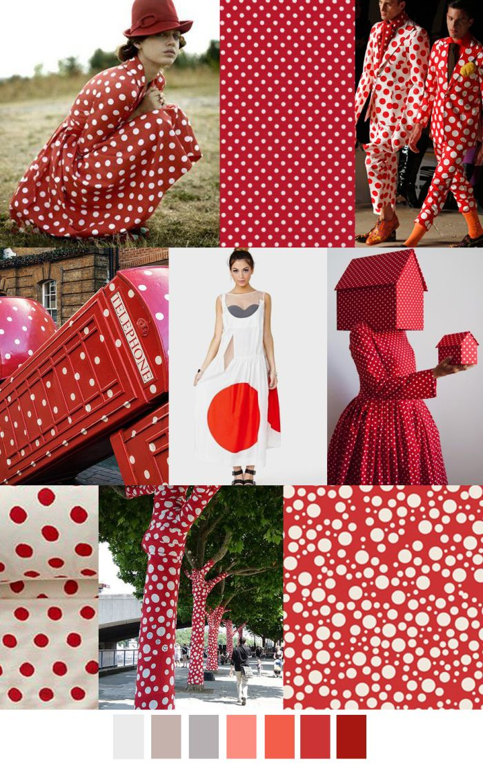 TENDENCIA LUNARES / RED DOTS / TOPITOS #coolhunting #moda #estampados