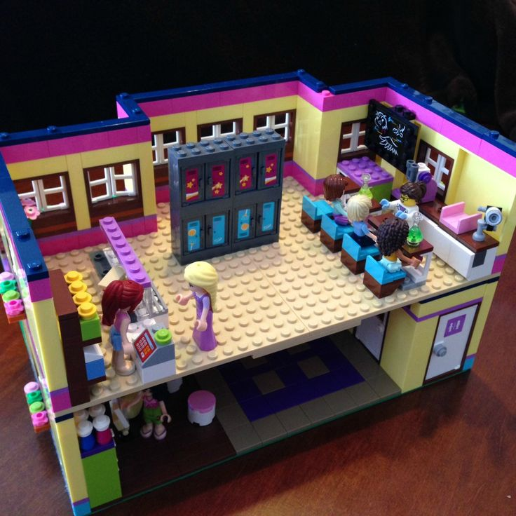 Modular Lego Friends High School