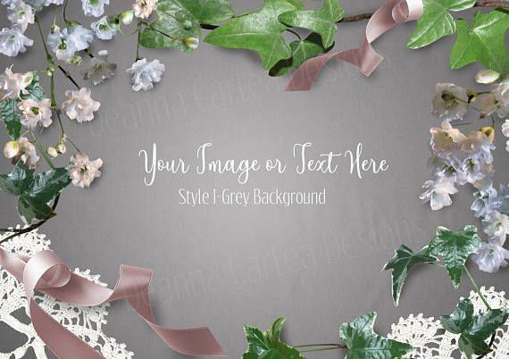 Mockup styled stock photo floral mock up stationery mockup