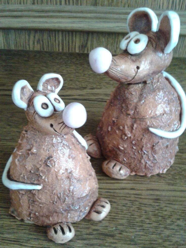 Mouses- myšky z keramiky