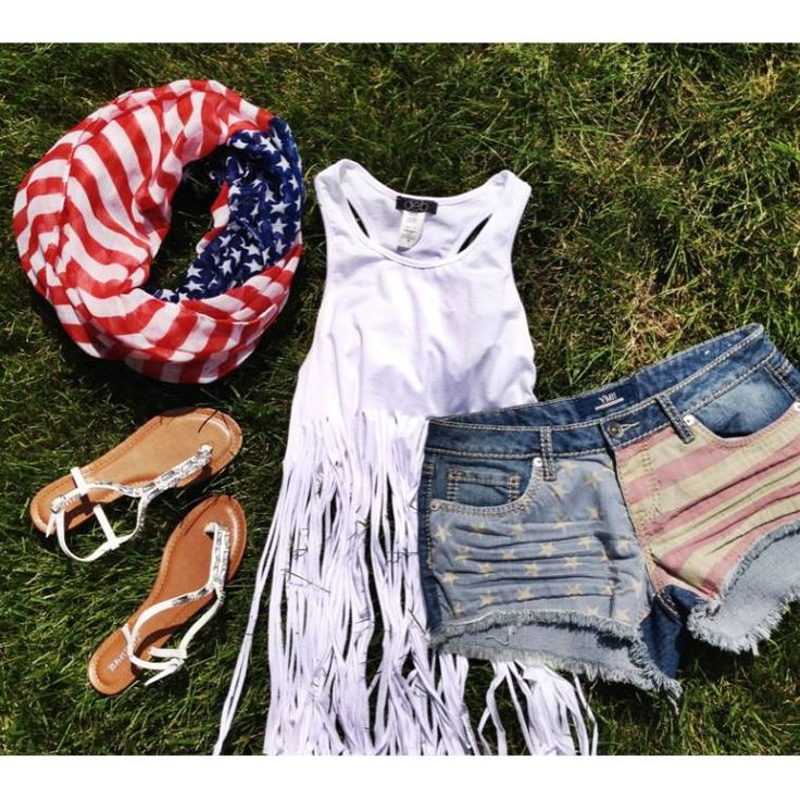 Deb Shops 4th of #july outfit