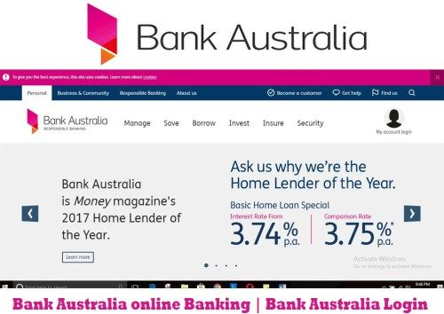 Bank Australia Online Banking Login Tecteem
