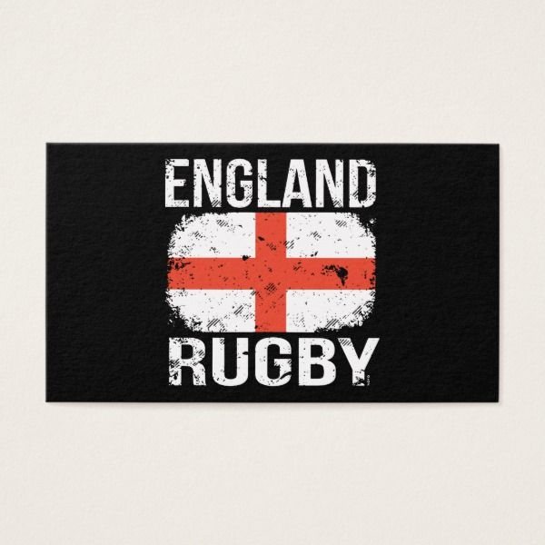 England Rugby T Shirts Business Card Custom Office Retirement Office Retirement With Images Football Party Invitations England Rugby