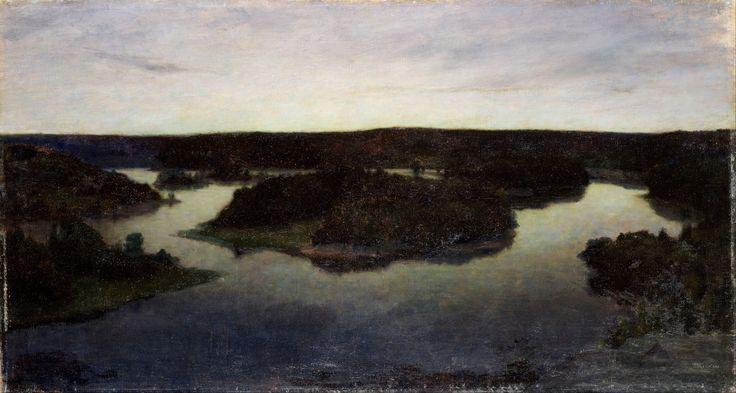 Prins Eugen - A Summer Night at Tyresö 1895