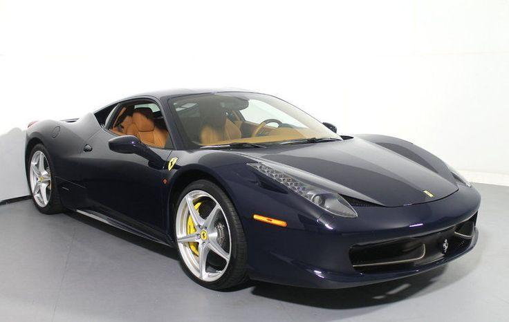 Awesome Ferrari 2017: 2013 Ferrari 458 Italia  2013 Ferrari 458 Italia  - Blue Pozzi - Cuoio - S1528