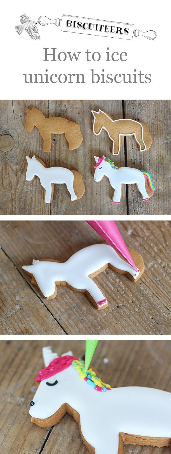 how to make coloured icing for biscuits