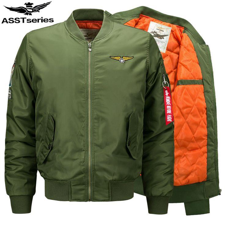 Winter Thick Bomber Jacket Men Parka Men Men's Jackets And Coats Military Jacket For Men Chaqueta Cazadoras Hombre Jaqueta.DA24 #Affiliate