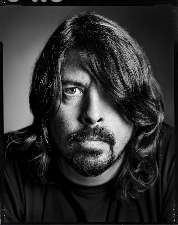 Dave Grohl (1969) - American rock musician, multi-instrumentalist, singer-songwriter, and film director, who is the lead vocalist, guitarist, main songwriter and founder of the band Foo Fighters.  Photo Mike Campau