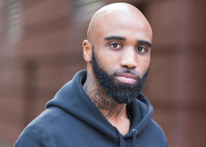 black men beard no mustache