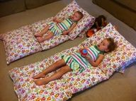 buy matching pillow cases, sew together, insert pillows, sew up ends!