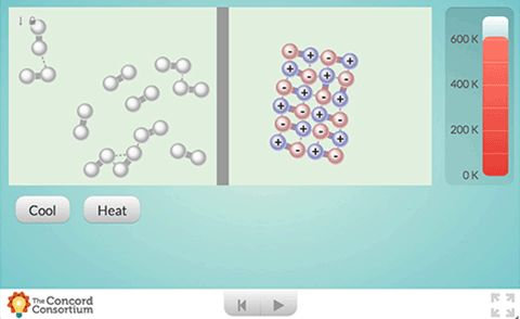 Heat non-polar and polar liquids and observe what happens when they boil.