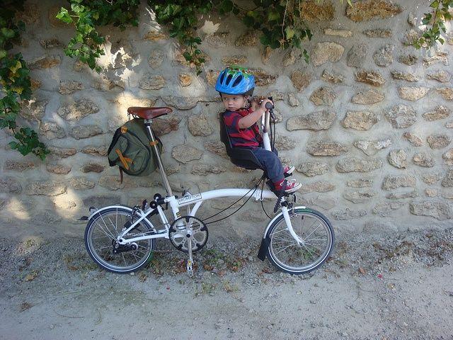 Transporter bébé et enfant sur son Brompton, récap !