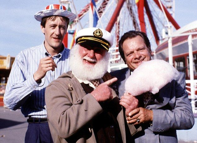 Jolly Boys Outing - Only Fools & Horses, 1989 - Bembon Brothers White Knuckle Theme Park (Dreamland), Margate, 1989