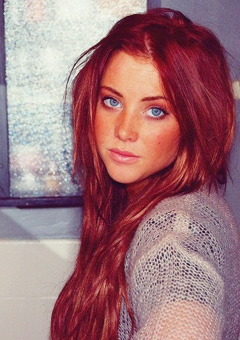 Blue Eyes Red Hair New Hair Style Possibilities