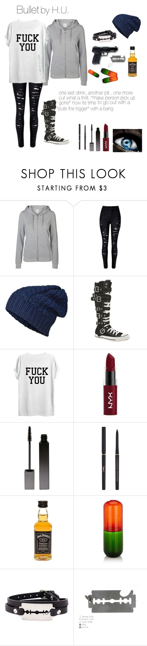 """35f8d582dc1da77a1816d651c34f7705  bullets creepypasta - """"creepypasta oc : Bullet"""" by chaoticduck ❤ liked on Polyvore featuring Vero Mo..."""