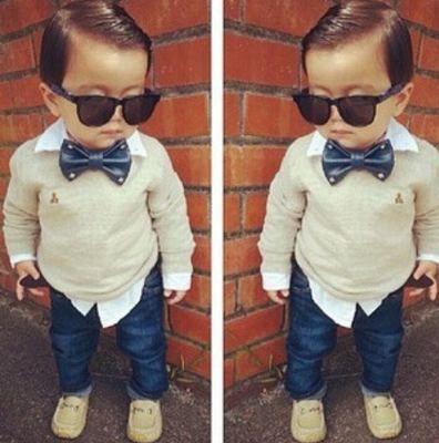 ropa fashion para bebes varones - Buscar con Google