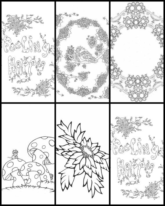 14 best free printables alzheimers dementia activities Coloring books for adults spiral bound
