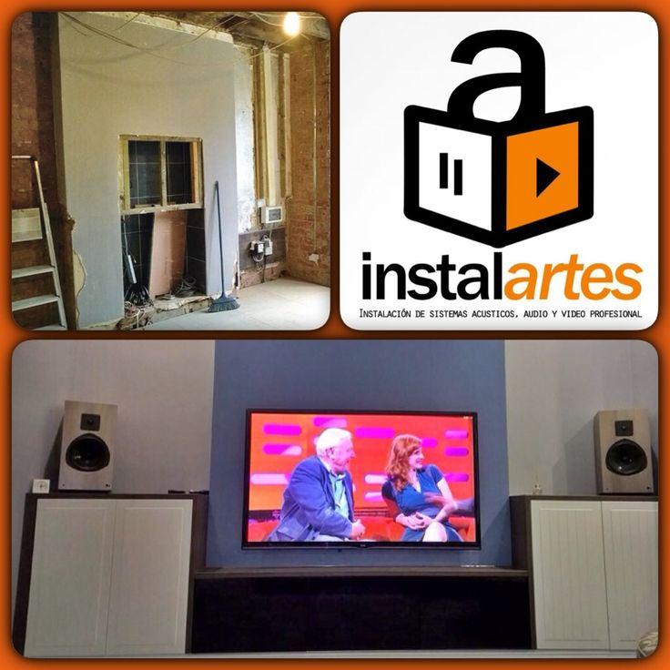minstalartes@http://goo.gl/zVEZ Diseño-Instalación de sistemas de audio y video, el antes y después.