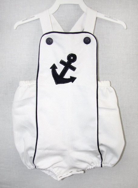 291865  Baby Boy Sunsuit  Baby Boy Clothes  Baby Boy by ZuliKids, $28.50