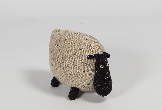 Shop | Design and Craft | Gifts | Makers&Brothers | Makers & Brothers | Brigid the Sheep | Baby | Teddy | Knitting | Knitted | Toys | Claire Anne O'Brien