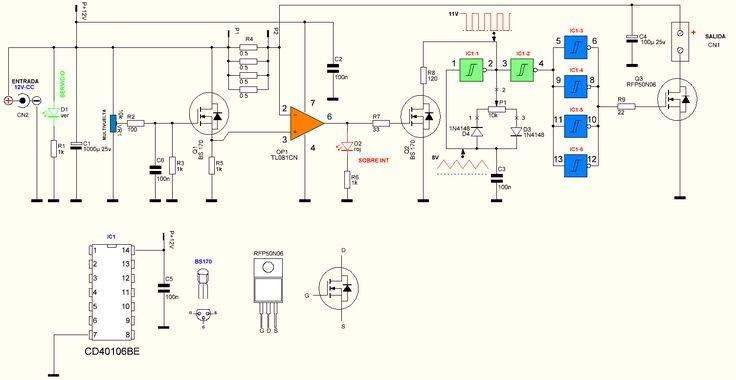 pin led dimmer circuit on pinterest