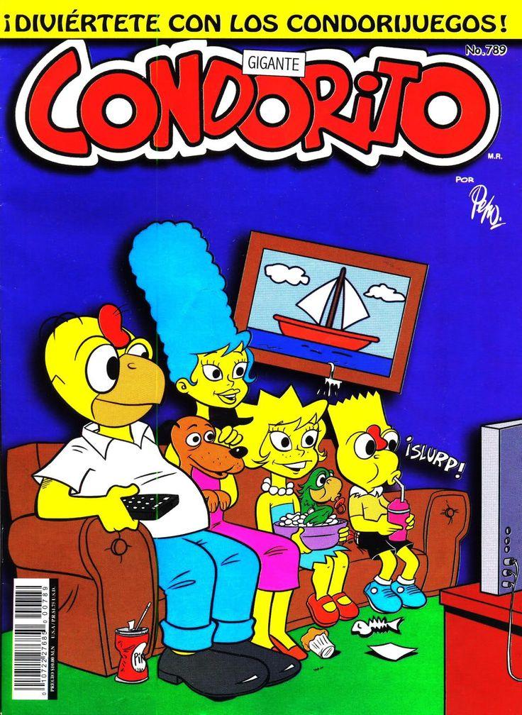 Simpson Estilo Condorito