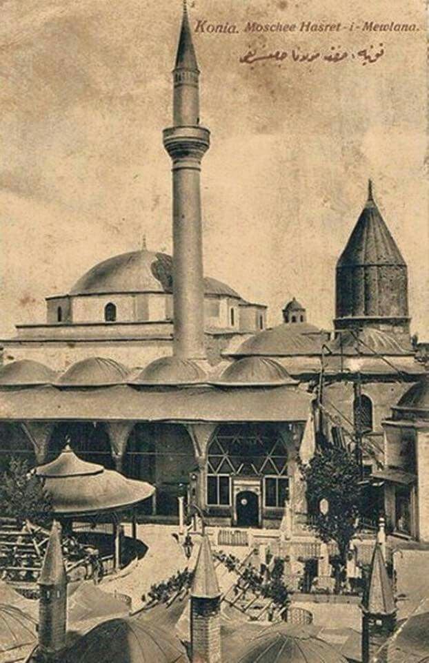 Mevlana Türbesi - Konia Mosque Hasret-i Mawlana.