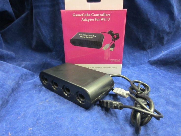 4 Port NEW GameCube GC NGC Controller Adapter Converter for Nintendo Wii U USB #UnbrandedGeneric