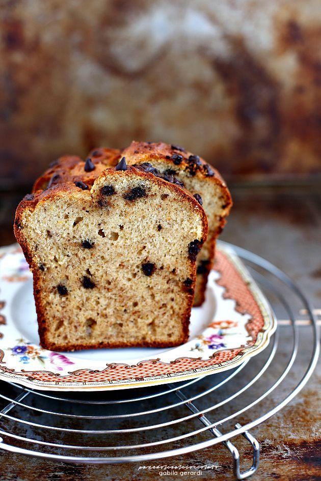 Cake integrale con gocce di cioccolato | PANEDOLCEALCIOCCOLATO