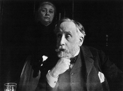 Degas, photographic self-portrait.