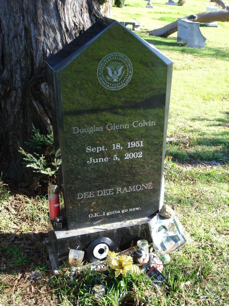Dee Dee Ramone Grave Resting Places Pinterest Cas