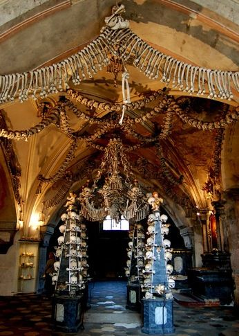 Bone Chandelier by Curious Expeditions, via Flickr