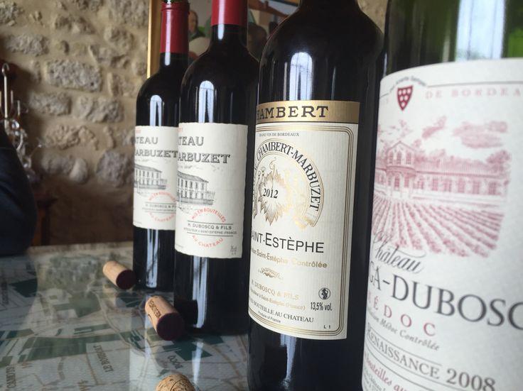 Vin du Chateau Marbuzet