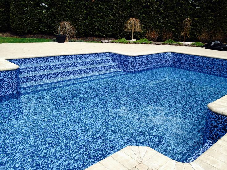 New Vinyl Liner Pattern From Looploc Only Alpha Pool