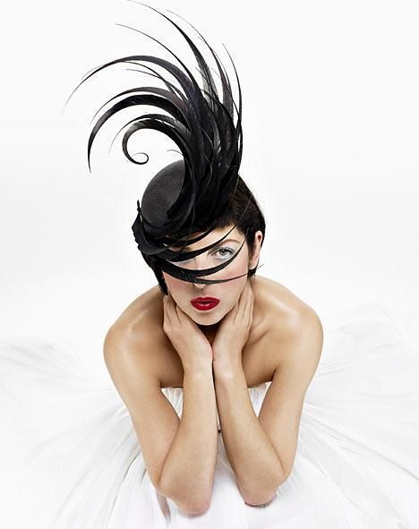 wearingthatsmile:    Isabella Blow- enabled English people to be eccentric.- the muse of hat designer, Philip Treacy.- discovered models Stella Tennant and Sophie Dahl.