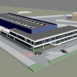Wij verzorgen op het werk: nieuwbouw Arentis te Terneuzen: - De HSB wand elementen - De HSB dakrand elementen - De prefab bekistings schotten Start werk 12-2013
