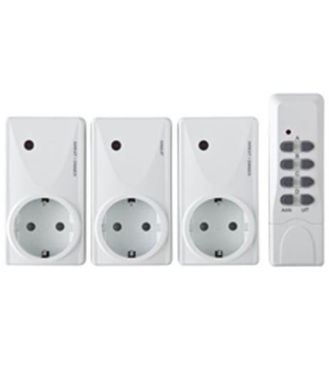 2 variateurs + 1 interrupteur marche/arrêt avec télécommande