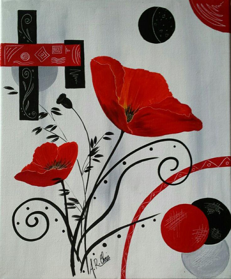 17 best images about mes peintures artiste raffin for Peinture acrylique