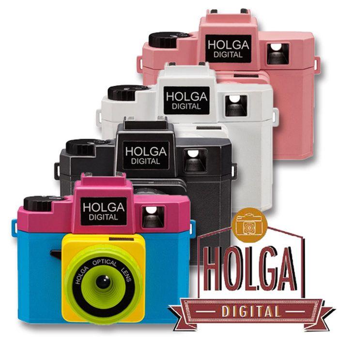 トイカメラHolgaDigital【1月中旬入荷予定】【送料無料】ホルガデジタルトイデジデジタルカメラ