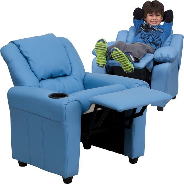 megkemery Pinterest pin Blevins Kids Recliner with Cup