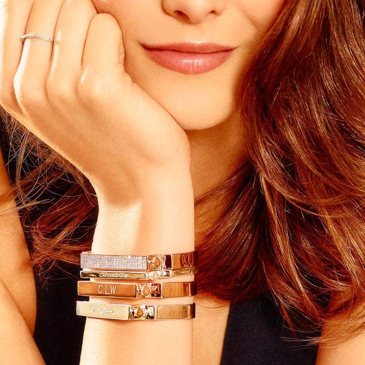 Rose Gold Signature Wide Diamond Ring Diamond Monica Vinader 1JkeijlQnY